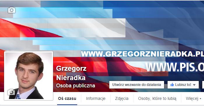 Grzegorz Nieradka FB i TT