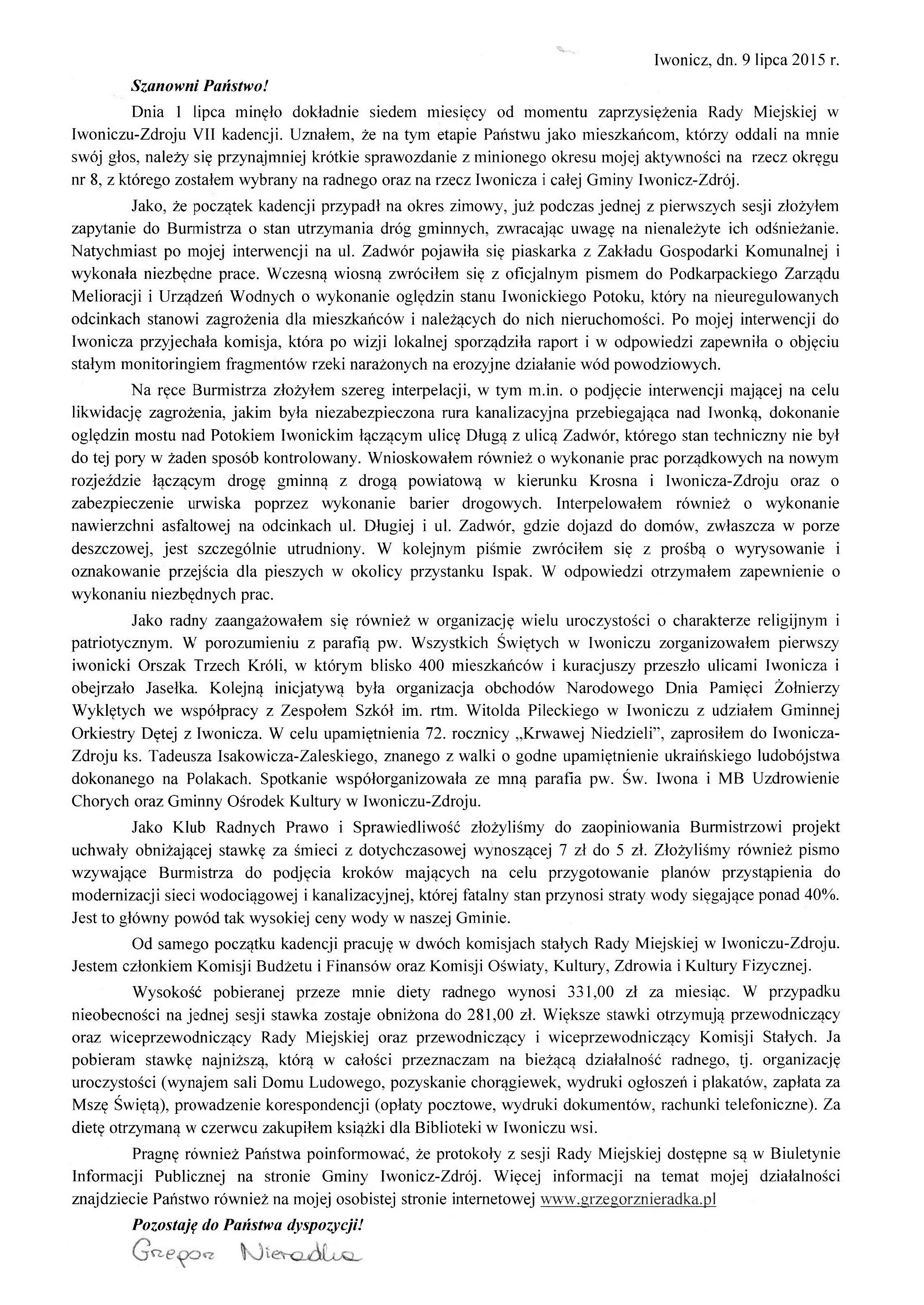 Sprawozdanie 1